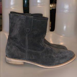ECOTE Gray Suede Boots 😍 (EUC!)